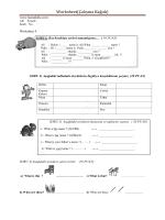 Worksheet(Çalışma Kağıdı)