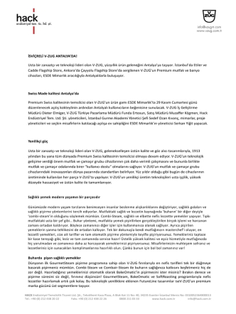 basın bülteni (pdf / 75.9 kb) - V