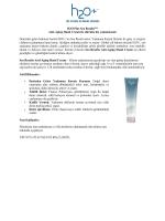 H2O Plus Sea Results™ Anti-Aging Hand Cream ile elleriniz hiç
