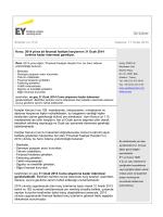 2014 yılına ait finansal faaliyet harçlarının 31 Ocak 2014 tarihine