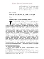 Oku - Bilgeler Zirvesi