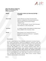 Otomobil üretimi için teknoloji işbirliği –TechKAP