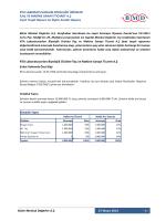 Fiyat Tespit Raporuna İlişkin Analist Raporu - RTALB