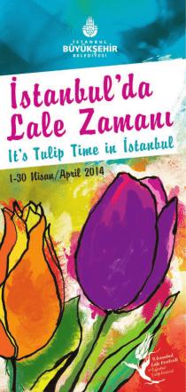 broşür - İstanbul Lale Festivali