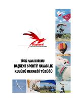 Tüzüğümüz - THK Başkent Sportif Havacılık Kulübü