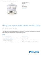 Product Leaflet: 2 L, 900 W Yoğurt Ustası