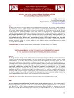 hipotez test etme temelli fiziksel/kimyasal değişim ile renk değişimi