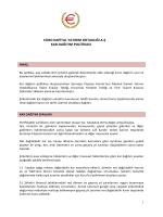 Kar dağıtım Politikası - Euro Kapital Yatırım Ortaklığı A.Ş.