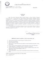 Iğdır Üniversitesi EBYS ve İmza Yetkileri Genelgesi