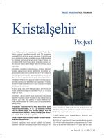 Proje Uygulamaları: Kristalşehir Projesi