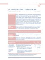 Clostridium difficile enfeksiyonu - Türkiye Halk Sağlığı Kurumu