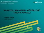 karayolları genel müdürlüğü trafik portalı