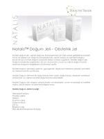 Natalis™ Doğum Jeli – Obstetrik Jel