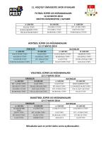 11. koçfest üniversite spor oyunları futbol süper lig müsabakaları 12