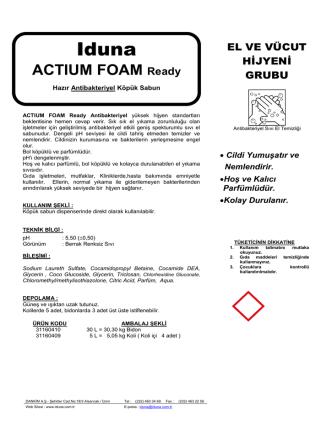 ACTIUM FOAM Ready