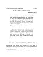 Göç - Atatürk Üniversitesi Türkiyat Araştırmaları enstitüsü Dergisi