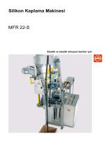 Silikon Kaplama Makinesi MFR 22-S