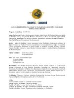 9-sağlık turizmi planlaması ve pazarlaması temel eğitim programı