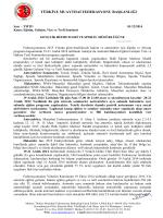 Federasyon Üst Yazısı - Türkiye Muaythai Federasyonu
