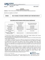 Duyuru-2014-01 - uhy uzman yeminli mali müşavirlik ve bağımsız