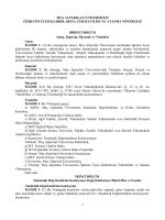 Muş Alparslan Üniversitesi Öğretim Üyesi Kadrolarına Yükseltilme