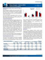 Bütçe Dengesi – Haziran 2014
