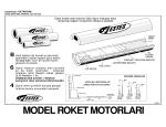 Model Roket Motorları Posteri