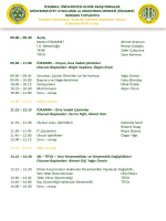 PowerPoint Sunusu - İstanbul Üniversitesi