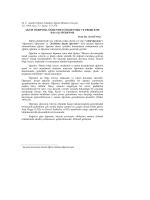 M. Ü. Atatürk Eğitim Fakültesi Eğitim Bilimleri Dergisi Yıl: 1999, Sayı