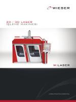 2D / 3D Laser İşLeme makinesi
