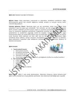 İSTATİSTİK AKADEMİSİ Eğitim Adı: Medikal İstatistiğin Püf Noktaları