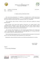 Res izinleri - Orman Genel Müdürlüğü