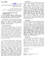 08.08.2014 cuma Cennet Ehlinin Ozellikleri Konulu Hutbe