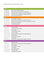 İstanbul Eğitim Takvimi - ÇözümPark Bilişim Portalı
