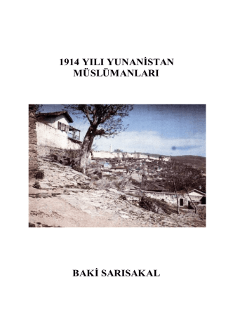 1914 Yunanistan Müslümanları
