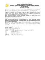 ref no.: 2014-2926 - Botaş International Limited