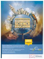 Türkçe Afiş-En Son Şekil - Science on Stage Turkey
