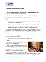 17 Şubat 2014 Basın Akşam Yemeği 2013 YILINDA %12 BÜYÜME