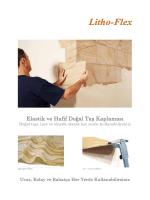 Elastik ve Hafif Doğal Taş Kaplaması - Litho-Flex
