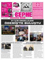 3.11.2014 Tarihli Cephe Gazetesi