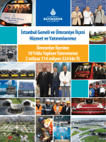 İstanbul Geneli ve Ümraniye İlçesi Hizmet ve Yatırımlarımız