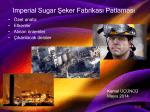 Imperial Sugar Şeker Fabrikası Patlaması