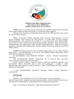 Ferdi ya da kulüp lisan - Türkiye Bilardo Federasyonu
