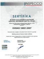 ohsas 18001 : 2007 ( türkçe )