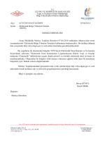 MERKEZ BİRİMLERE Genel Müdürlük Merkez Teşkilatı Birimleri