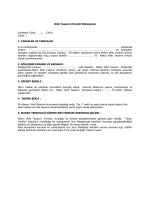 Web Tasarım Hizmeti Sözleşmesi
