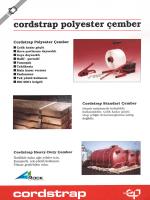 cordstrap polyester çember