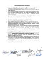 Görev Devri Esasları - İstanbul Üniversitesi | İdari ve Mali İşler Daire