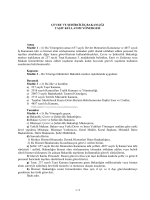 Taşıt Kullanım Yönergesi - Çevre ve Şehircilik Bakanlığı
