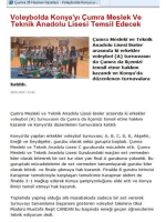 Tam sayfa fotoğraf - Çumra İlçe Milli Eğitim Müdürlüğü